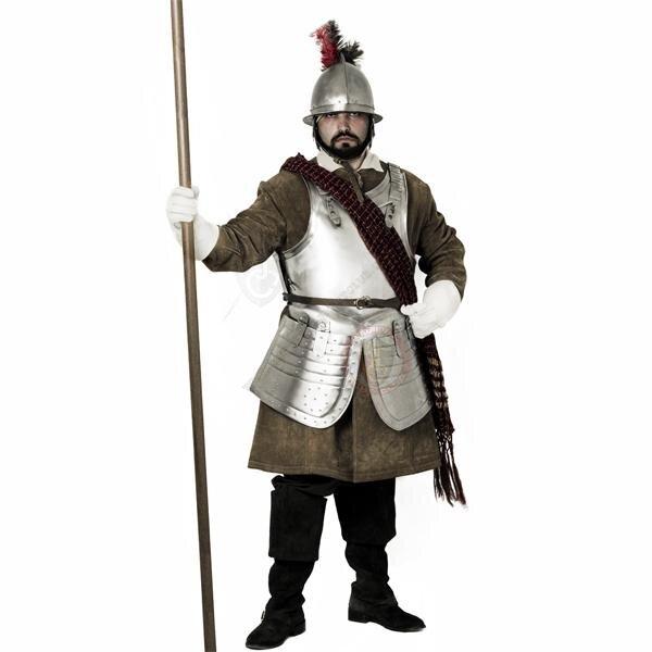 English Civil War Cuirass / Breastplate and tassets
