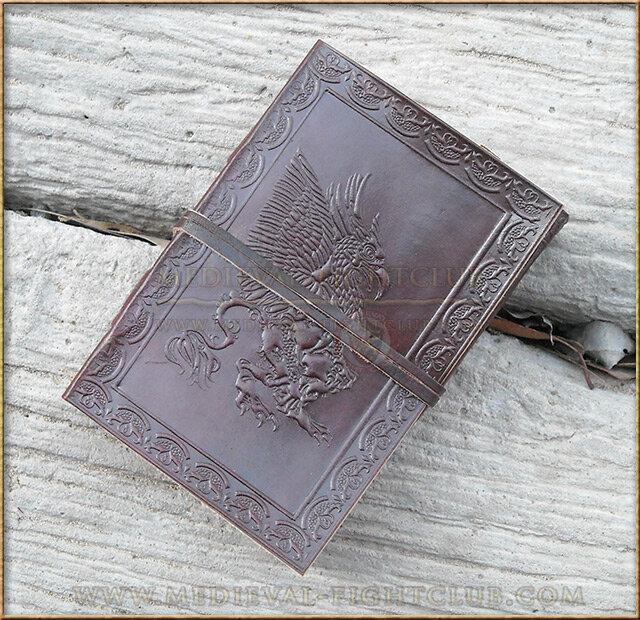 Gryphon  Leather Journal 10cm x 15cm