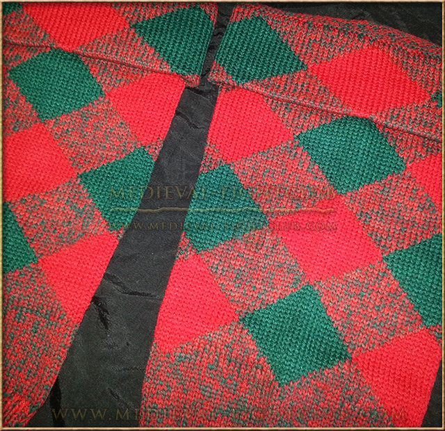 Hose Tops - Red/Green - diced