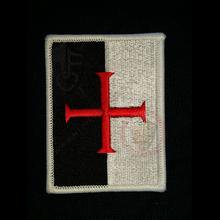 Stylish Knights Templar cloth patch