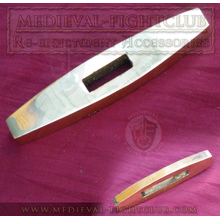 Brass Tapered-Flat Crossguard