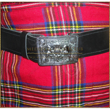 Thistle Kilt Belt and Buckle