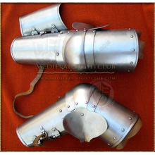 Elbow and arm guards - (hinged forearms)