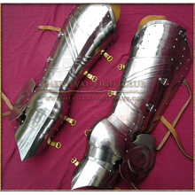 Gothic fluted cuisses and poleyns (new design)