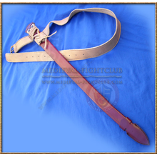 Scabbard & belt - leather with rain guard