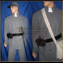 Civil-war Grey Jacket Coat