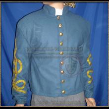 Civil-war CS Officer Shell Jacket - BlueGrey