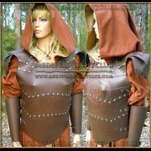 Leather fantasy armour