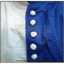 Blue & White Gambeson / Jupon