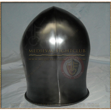 Flared Barbute Combat Helmet