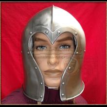 Heart shaped Barbute Combat Helmet