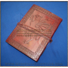 Leather Journal embossed 'Gryphon'