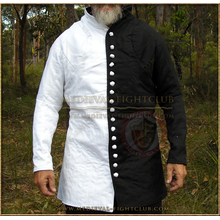 White & Black Gambeson / Jupon