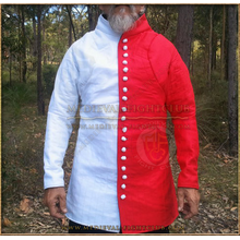 White & Red Gambeson / Jupon