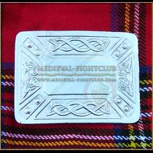 Celtic Weave Kilt Belt Buckle