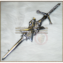 Scottish claymore kilt pin