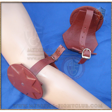 Leather Cops (knee/elbow) Moulded