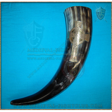 Drinking Horn - Celtic Cross