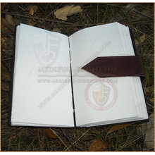 Leather Journal 22.5cm x 13cm with simple belt strap
