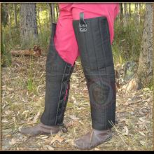 Padded Arming legs - black