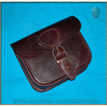 Brown rectangle pouch