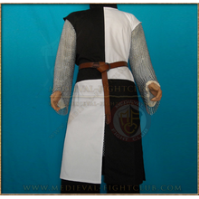 Surcoat tabard (White & Black) quartered