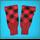 Hose Tops - Red/Black - diced