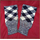 Hose Tops - Navy Blue/White - diced
