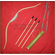 Bow and arrow toy set