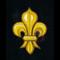 Stylish Knights Hospitaller cloth patch
