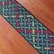 Celtic weave green braid